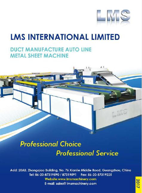 LMS Duct and Metal Sheet Working Machine Catalogue