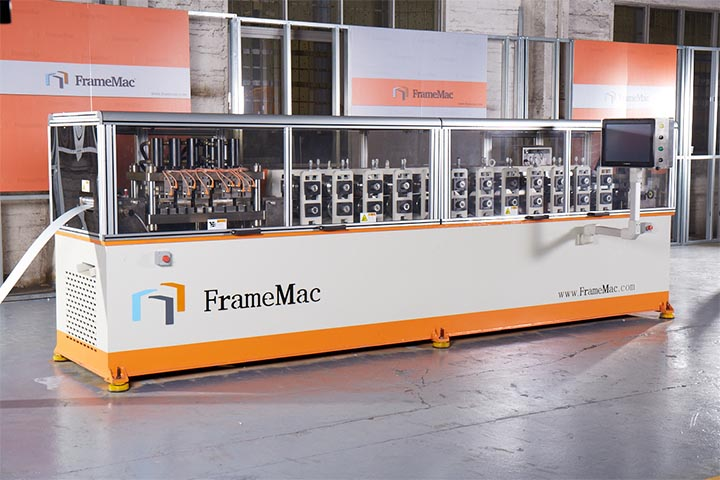 FrameMac Light Steel Frame House Machine_