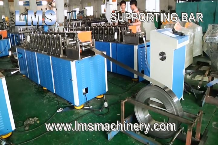 LMS FILE CABINET ROLL FORMING SYSTEM - SUPPORTING BAR