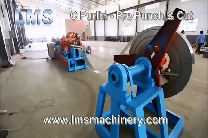 LMS C PURLIN C80X250 ROLL FORMING MACHINE