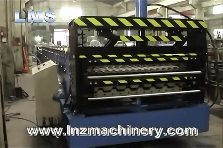 LMS Double Layer Roof Panel Roll Forming