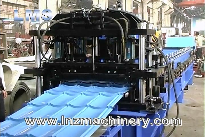 LMS Step TILE ROOF ROLL FORMNG MACHINE