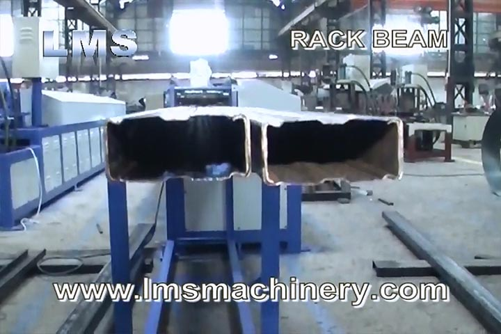 LMS SELECTIVE RACK COUPLE BEAM ROLL FORMING MACHINE