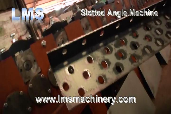 LMS SLOTTED ANGLE ROLL FORMING LINE